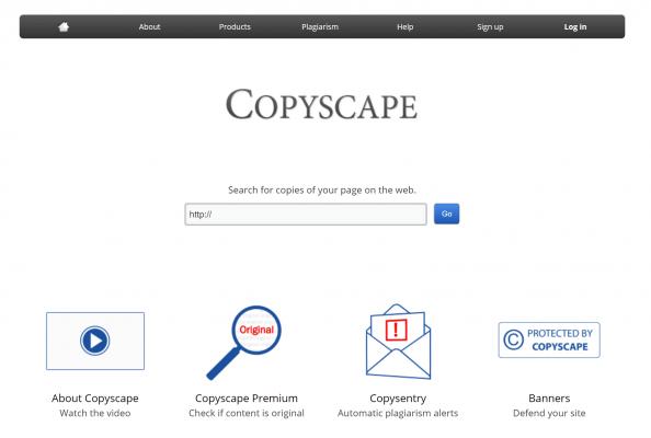 Công cụ SEO Copyscape