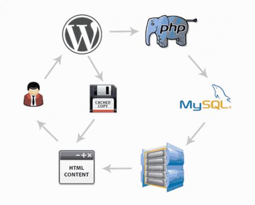 cách thức hoạt động của cache WordPress