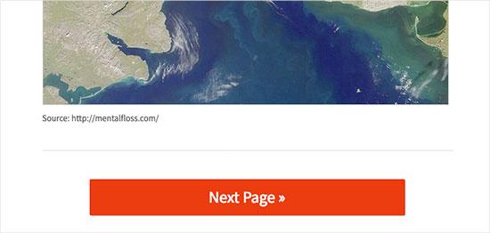 Chia các bài đăng dài thành các trang
