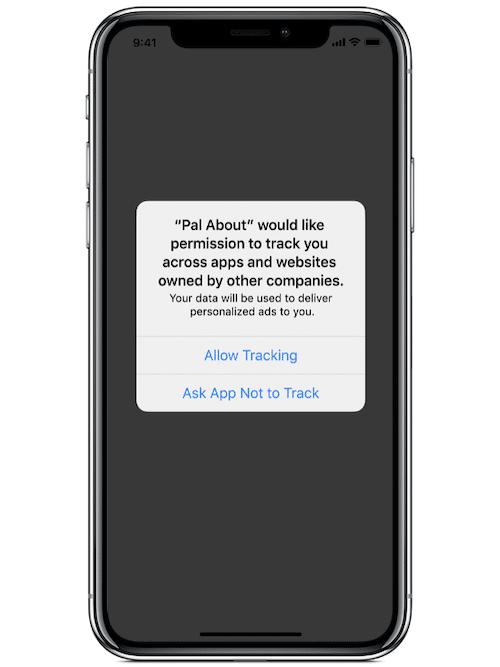 iOS 14 thông báo yêu cầu cấp quyền cho phép bên thứ 3 truy cập dữ liệu của bạn
